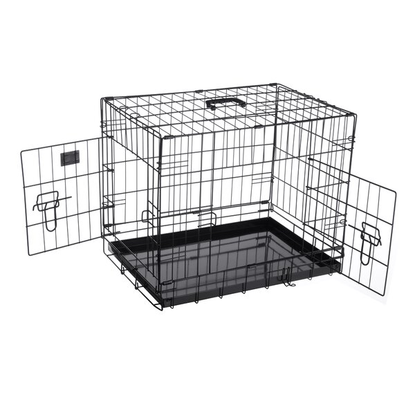 Peyton Folding Pet Crate Kennel Wire Cage by Tucker Murphy Pet