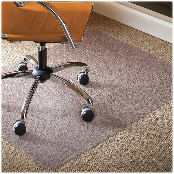Natural Origins Low Pile Carpet Straight Edge Chair Mat by ES Robbins Corporation