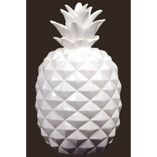 Hardy Ceramic Pineapple Figurine by Wrought Studio