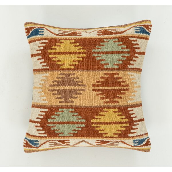Lodge Wool Throw Pillow by Continental Rug Company