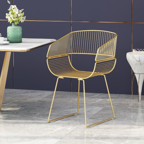 Maddox Metal Windsor Back Arm Chair by Wrought Studio Wrought Studio