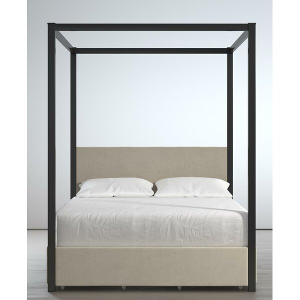 Rowan Valley Sparrow Canopy Bed With Storage by Little Seeds