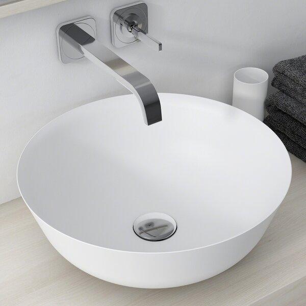 Natura™ Circular Vessel Bathroom Sink by Kraus