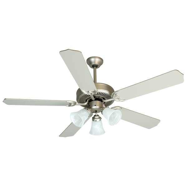 52 Palatine 3 Light 5 Blade LED Ceiling Fan by Charlton Home