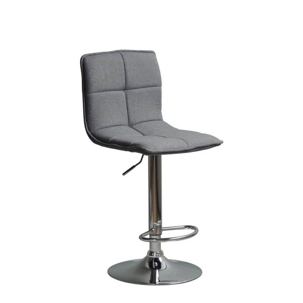 Silvis Adjustable Height Swivel Bar Stool by Orren Ellis