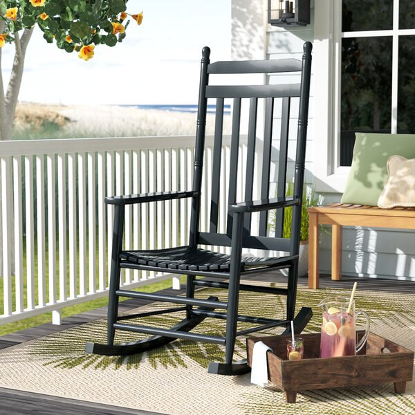 Ermera Rocking Chair by Beachcrest Home