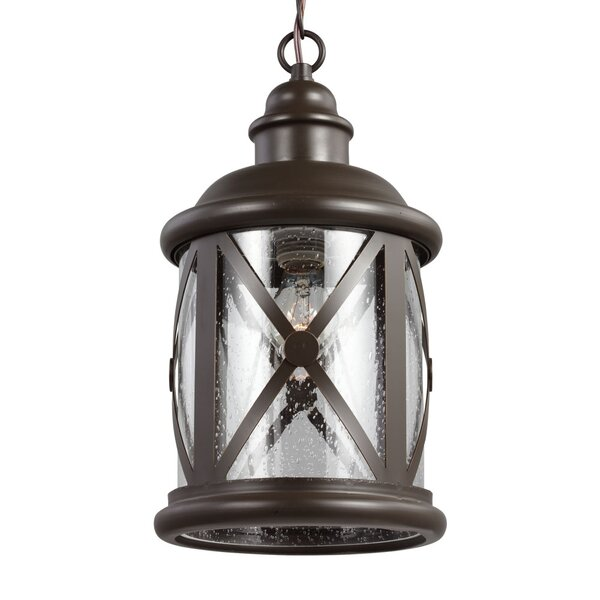 Falmouth 1-Light Outdoor Hanging Lantern by Breakwater Bay