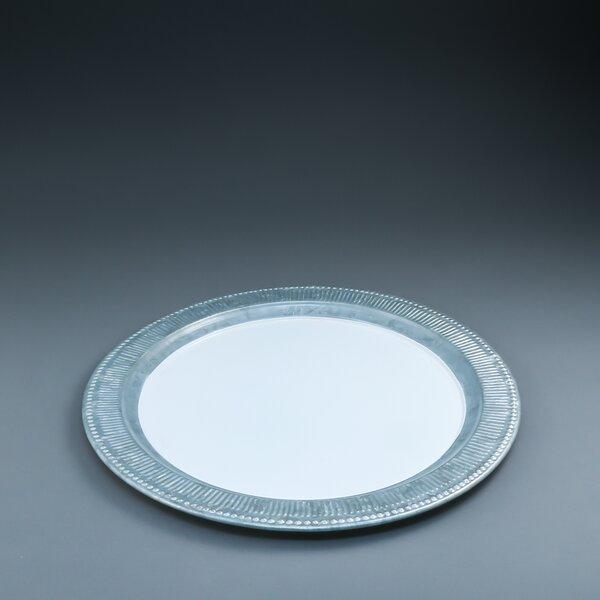 Emmaus Galvanized Platter by World Menagerie