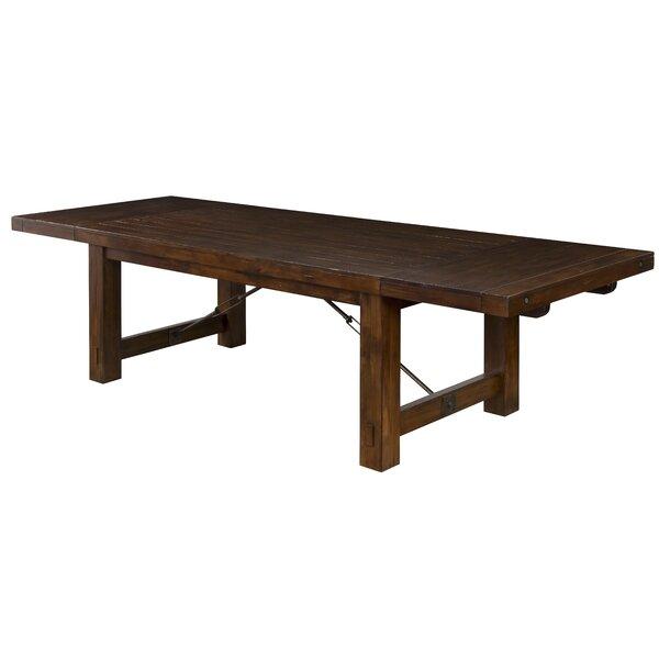 Hardin Mahogany Solid Wood Dining Table By Loon Peak