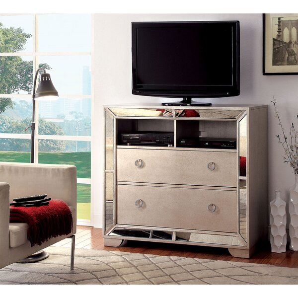 Alysa 2 Drawer Media Chest By Rosdorf Park