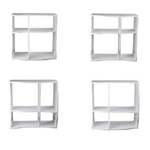 Faircloth Cube Unit Bookcase (Set of 3) Ebern Designs