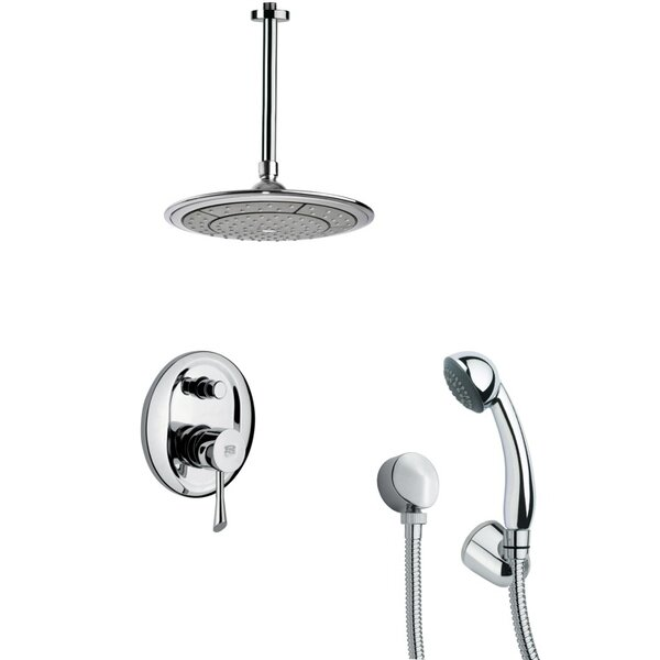 Orsino Pressure Balanced Complete Shower System With Rough-in Valve By Remer By Nameek's