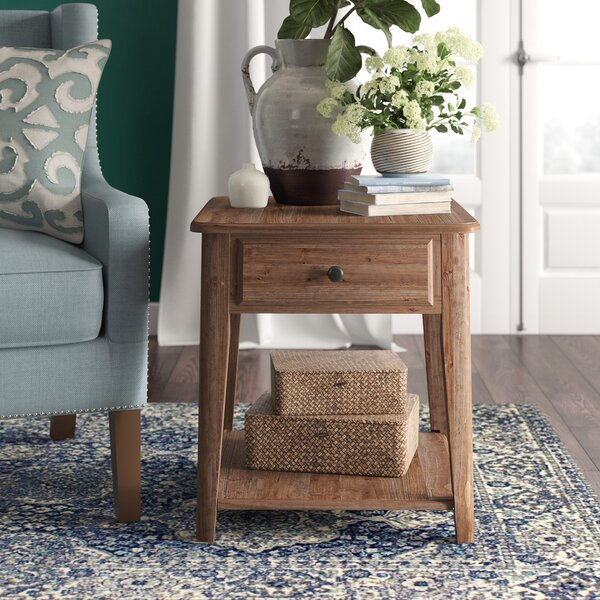 Gwinnett End Table by Birch Lane™ Heritage