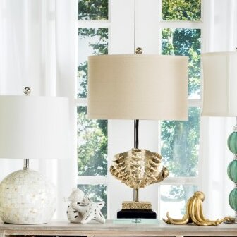 Shell 27.5 Table Lamp (Set of 2) by Safavieh