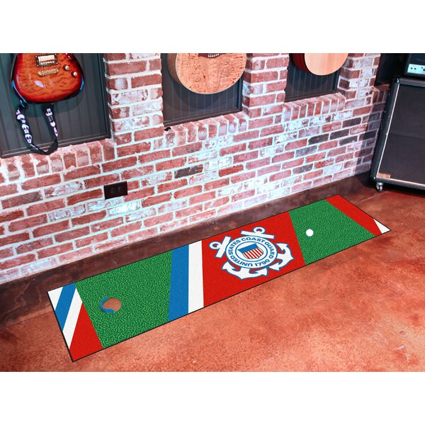 Military U.S. Coast Guard Putting Green Mat by FANMATS
