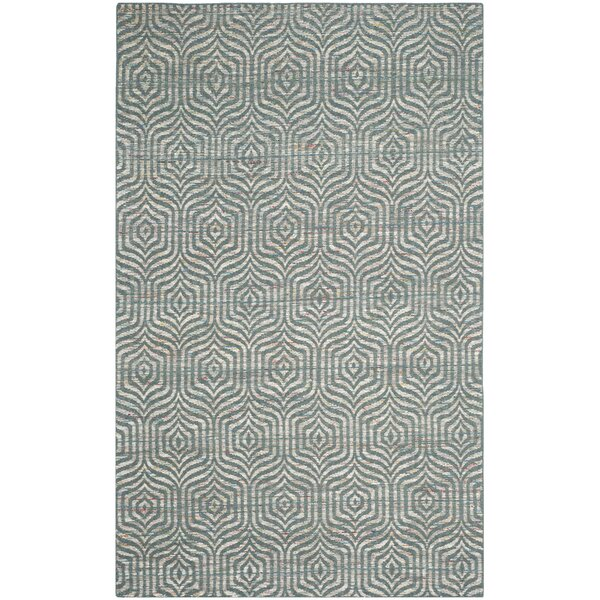 Straw Patch 200 Blue Area Rug by Safavieh