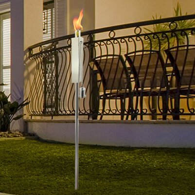 Rectangle Garden Torch by Anywhere Fireplace