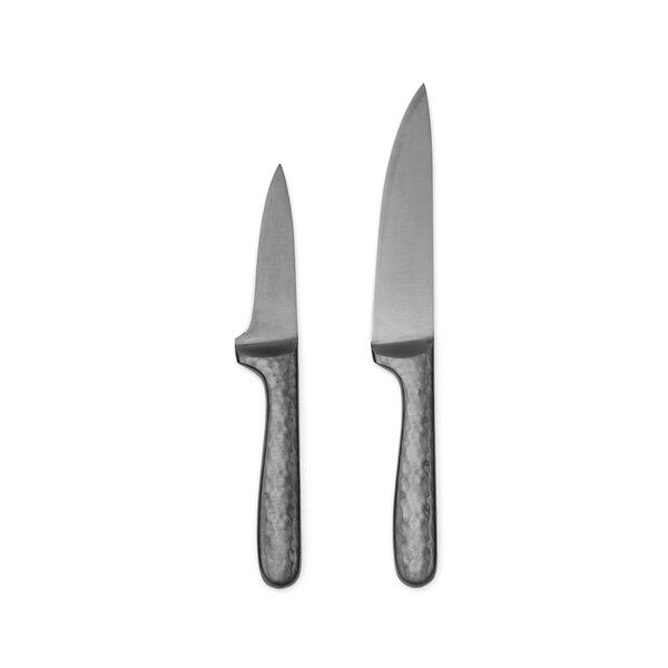 Nero 2 Piece Utility and Paring Knife Set by Cambridge Silversmiths