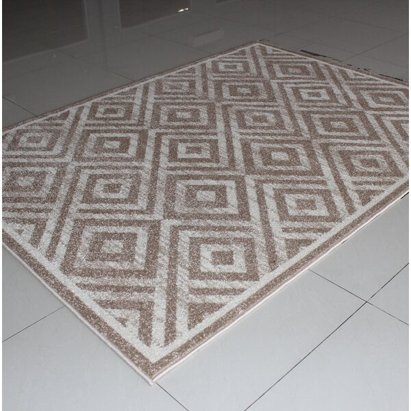 Rorie Modern Berber Area Rug by Wrought Studio