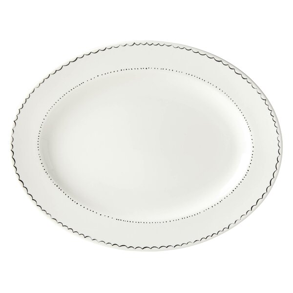 Union Square Doodle Oval Platter by kate spade new york