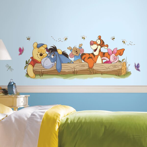Winnie The Pooh Outdoor Fun Giant Wall Decal by Room Mates