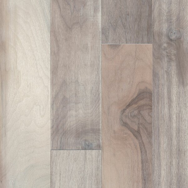 Artisan 6-3/4 Engineered Walnut Hardwood Flooring in Artisanal Gray by Armstrong Flooring