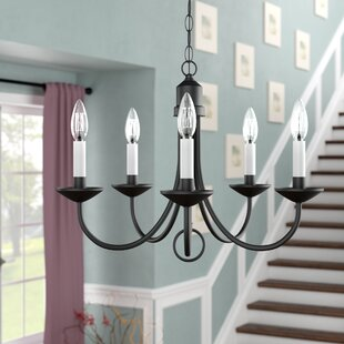 Best Choices Graham 5-Light Chandelier By Three Posts