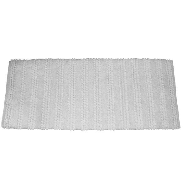 Nery Luxury Stripe Bath Rug by Latitude Run