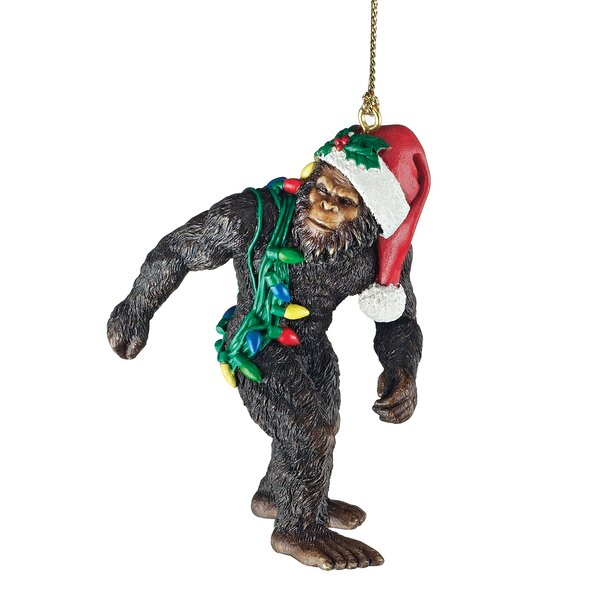 Bigfoot the Holiday Yeti Ornament by Design Toscano