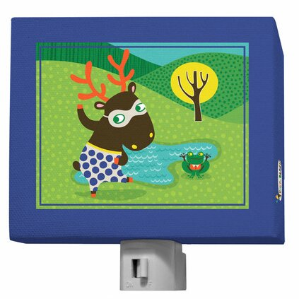 Funky Woodland Creatures Night Light by Oopsy Daisy