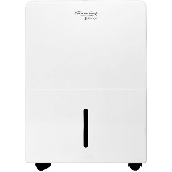 30 Pint Portable Dehumidifier with Casters by Soleus Air