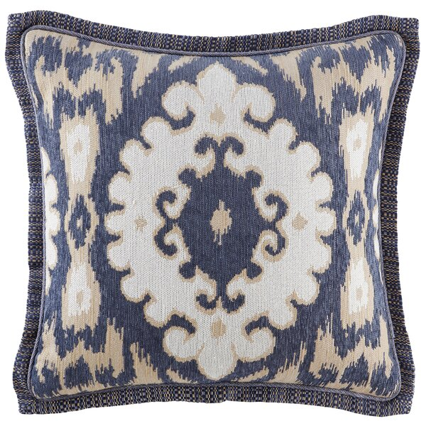 Kayden Square Throw Pillow by Croscill Home Fashions