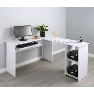 compact corner desk wayfair rh wayfair com corner l shaped desk with hutch edmiston corner l shaped desk