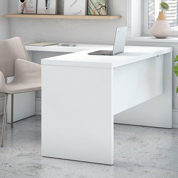 Echo L-Shaped Desk Shell by Kathy Ireland Office by Bush