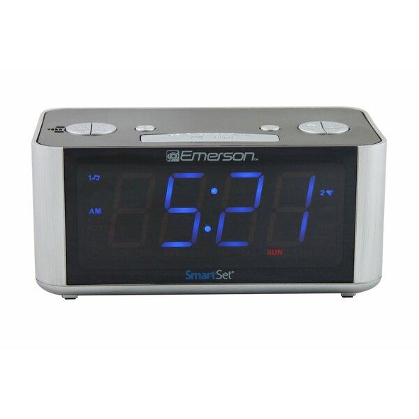 Emerson Smartset PLL Radio Alarm Clock by Conair