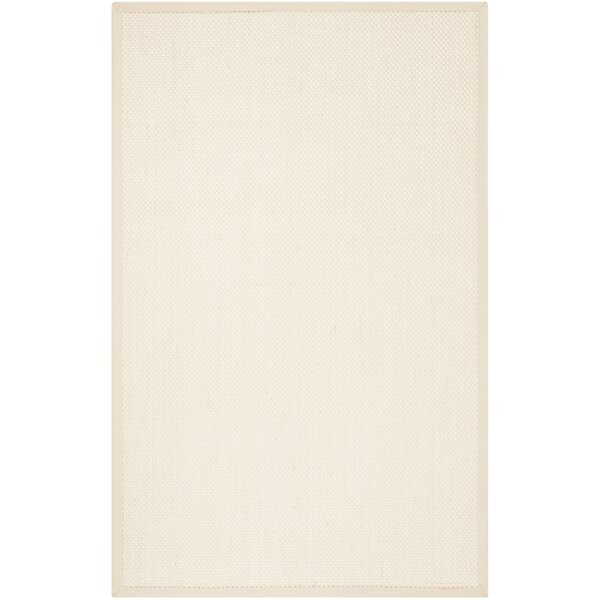 Chaidez Beige Ivory Area Rug by Rosecliff Heights
