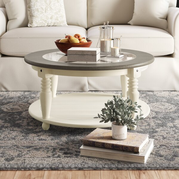 Onida Coffee Table with Storage by Birch Lane Heritage Birch Lane™ Heritage