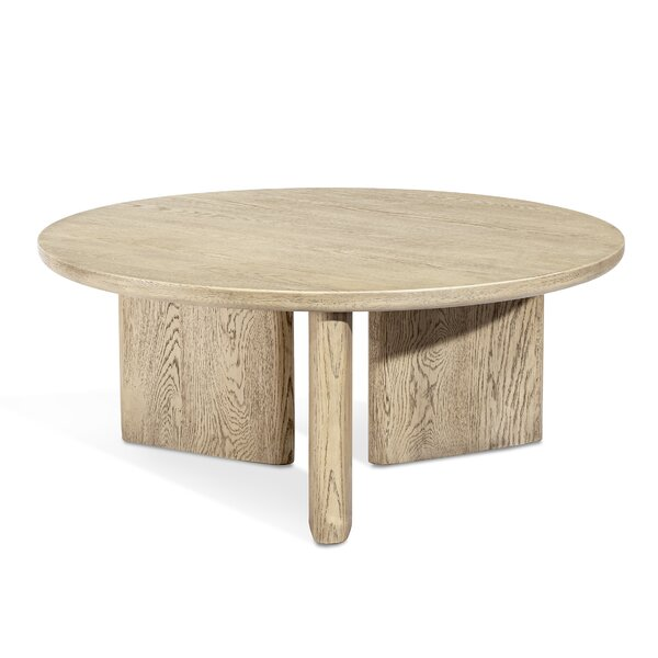 Infinity Solid Wood 3 Legs Coffee Table by Interlude