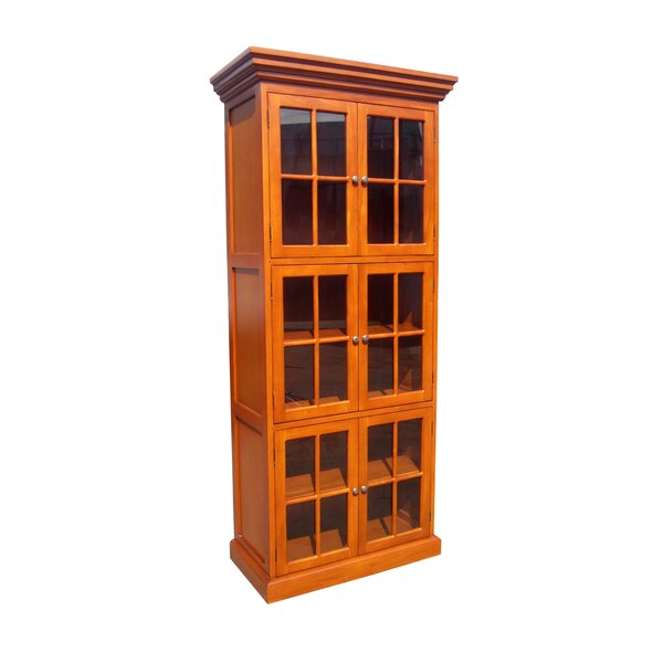 Archimbald Traditional Library Standard Bookcase by Darby Home Co