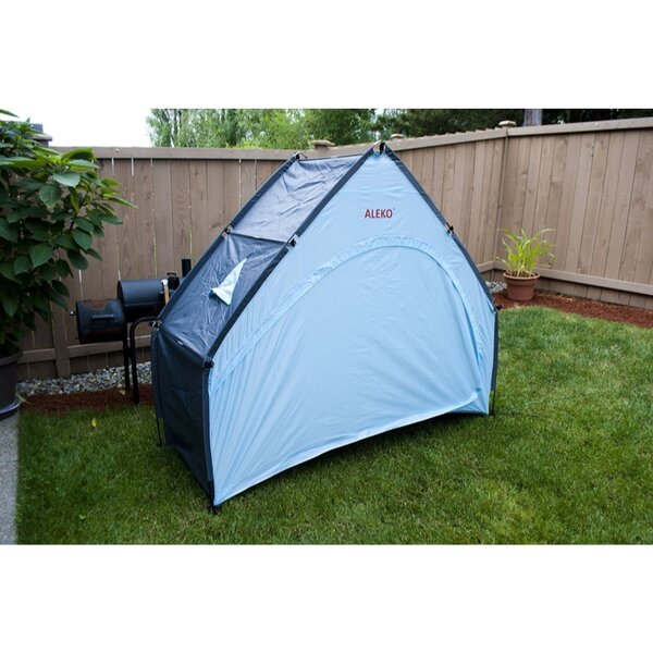 Outdoor Bike/Garden and Pool Storage 2 Person Tent with Carry Bag by ALEKO