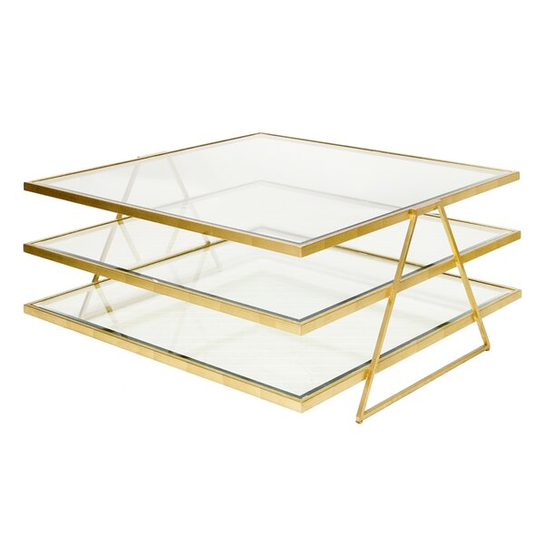 3 Tier Coffee Table by Worlds Away