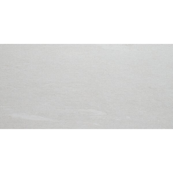 Embassy 12 x 24 Porcelain Wood Look Tile in Wanderlust White by Itona Tile