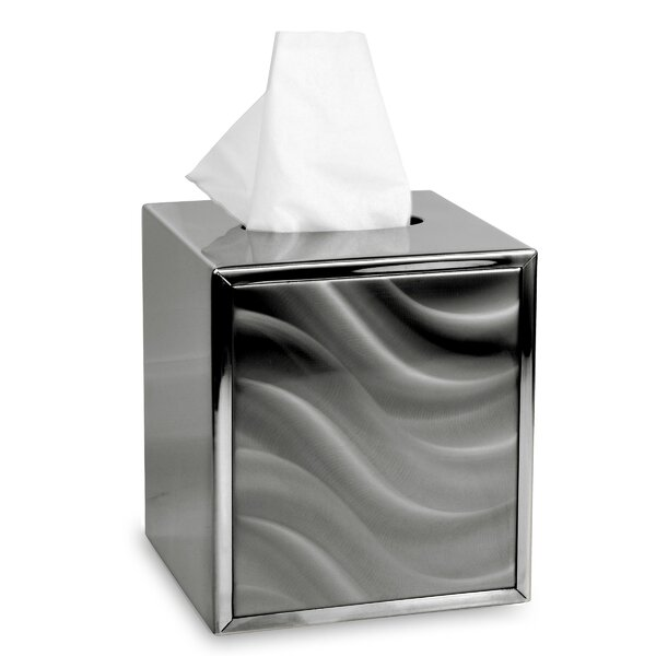Moire Tissue Box Cover by CHF