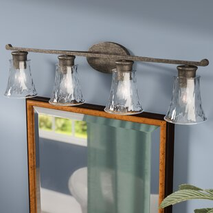 Reviews Channel 4-Light Vanity Light By Darby Home Co
