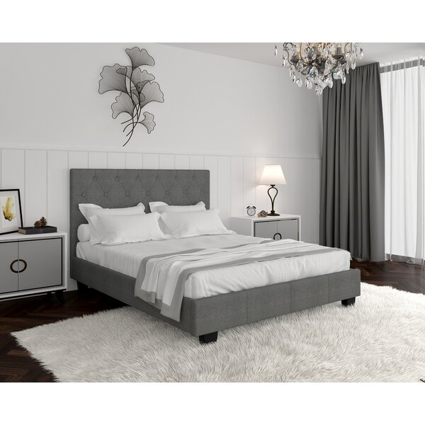 Upholstered Platform Bed By Ebern Designs
