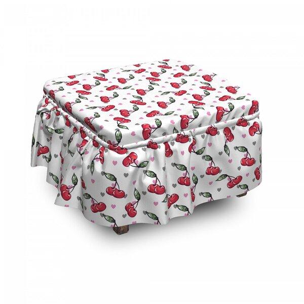 On Sale Box Cushion Ottoman Slipcover