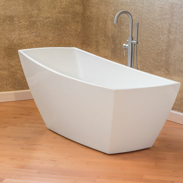 Freestanding 67 x 31 Bathtub by LessCare