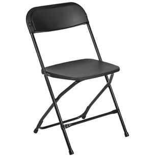 Basics Folding Plastic Chair 350 Pound Capacity White Set Of 2 Furniture Folding Chairs