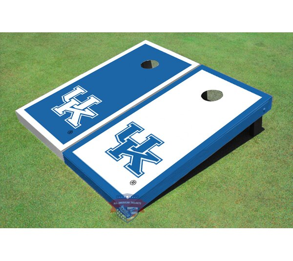 NCAA Alternating Border Cornhole Board (Set of 2) by All American Tailgate