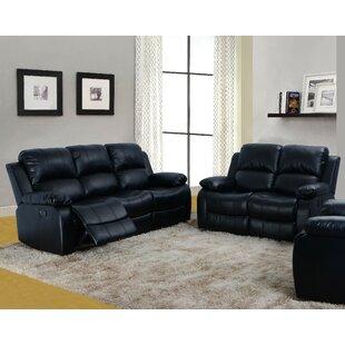 Jakobi 2 Piece Reclining Living Room Set by Red Barrel Studio®